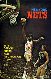 1976 Nets official Press Guide