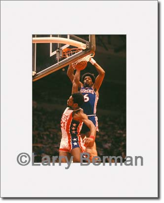 Julius Erving picture by Larry Berman