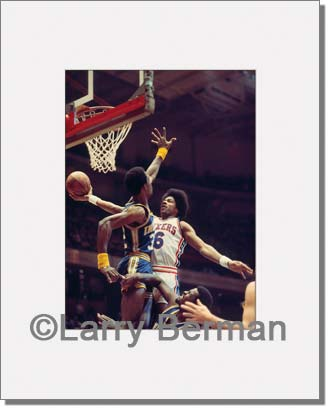 Dr J picture by Larry Berman